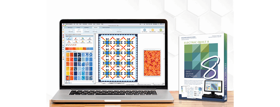 Software Books Printables For Quilters The Electric Quilt Company